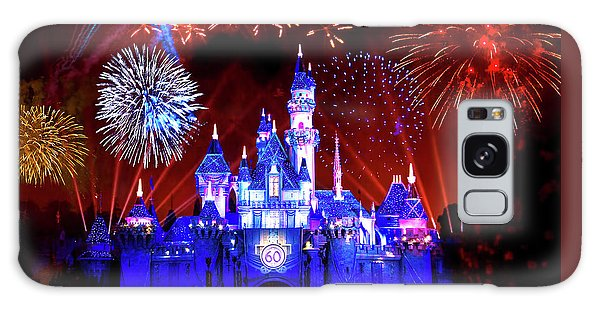 Disneyland 60th Anniversary Fireworks Galaxy Case by Mark Andrew Thomas