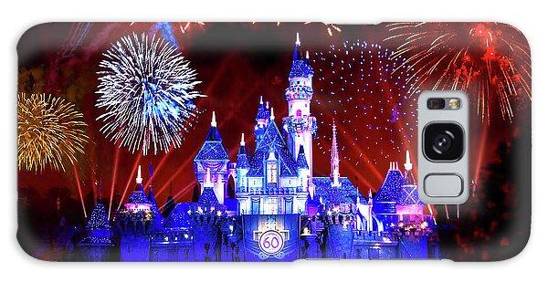 Disneyland 60th Anniversary Fireworks Galaxy Case