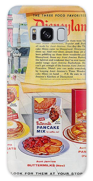 Disneyland And Aunt Jemima Pancakes  Galaxy Case
