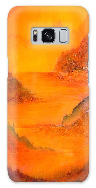 Mountain Lake Galaxy Case - Distance by Shadia Derbyshire