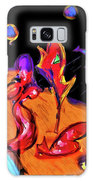 Distant Crossroads Galaxy Case by Robert Henne