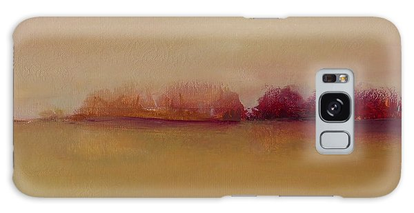 Distant Red Trees Galaxy Case