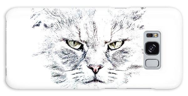 Disturbed Cat Galaxy Case by Everet Regal