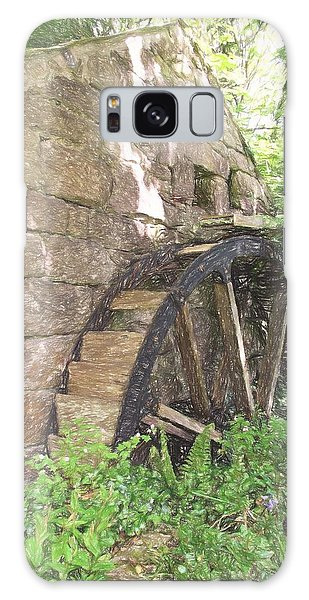 Disused Water Wheel Galaxy Case by Jayne Wilson