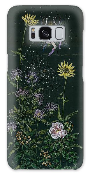 Ditchweed Fairy Wild Rose Galaxy Case by Dawn Fairies