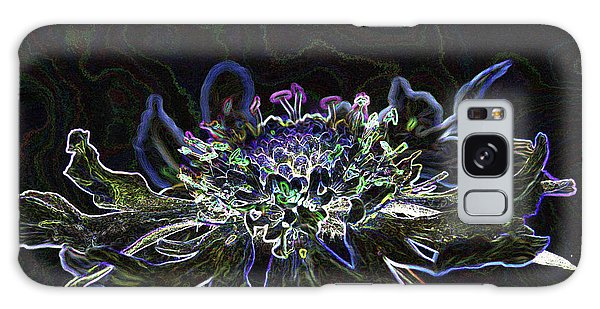 Ditigal Abstract Art Glowing Flower Galaxy Case