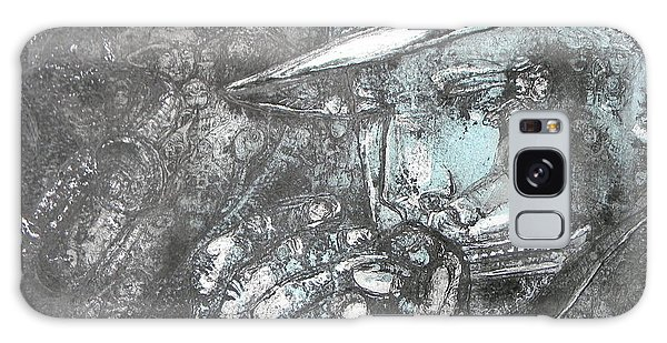 Divine Blues Galaxy Case by Anne-D Mejaki - Art About You productions