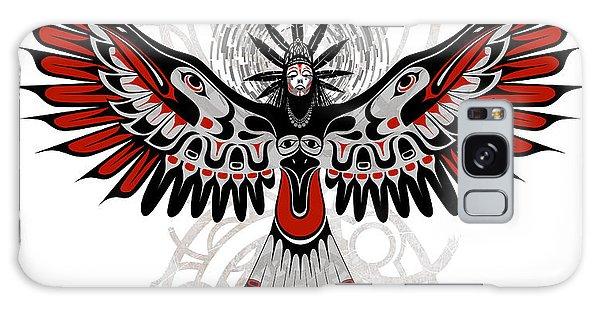 Native American Galaxy Case - Divine Crow Woman by Sassan Filsoof