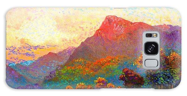 Buddha Meditation, Divine Light Galaxy Case by Jane Small