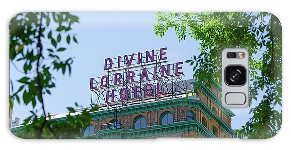 Divine Lorraine Hotel Restored - Philadelphia Galaxy Case by Bill Cannon