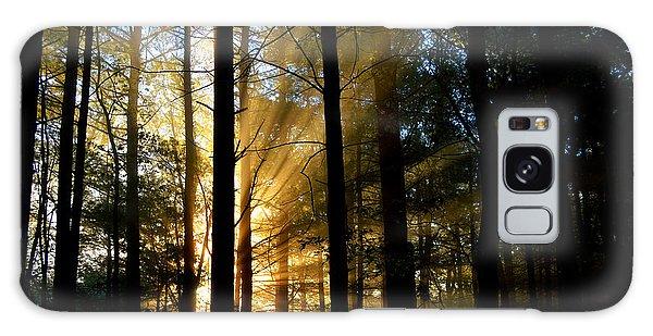 Divine Rays Of Sunshine Galaxy Case