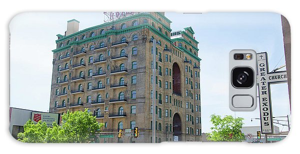 Divine Resurection - Divine Lorraine Hotel Philadelphia Galaxy Case by Bill Cannon