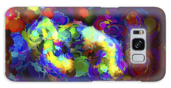 Reef Diving Galaxy Case - Diving Abstract by Terry Weaver