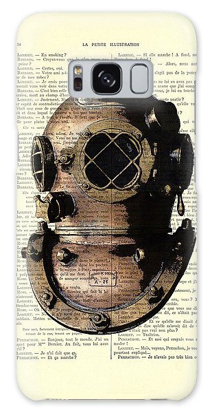 Patent Galaxy Case - Diving Helmet by Madame Memento