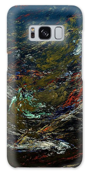 Reef Diving Galaxy Case - Diving The Reef Series - Sea Floor Abstract by David Lane