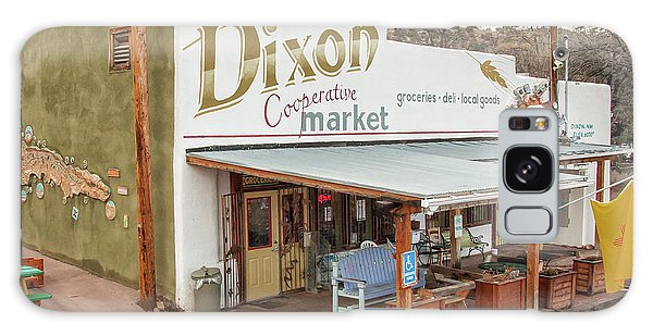 Galaxy Case featuring the photograph Dixon Market, New Mexico by Britt Runyon