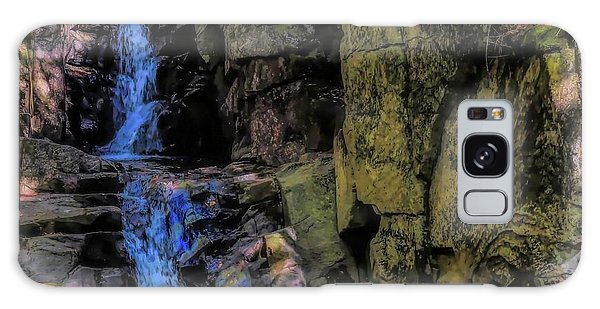 Dixville Notch Flume Brook Galaxy Case