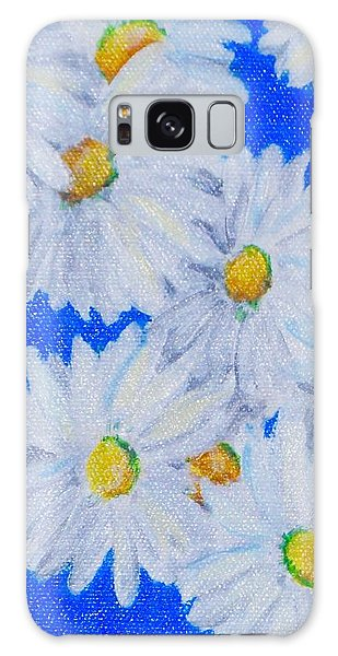 Dizzy Daisies Galaxy Case