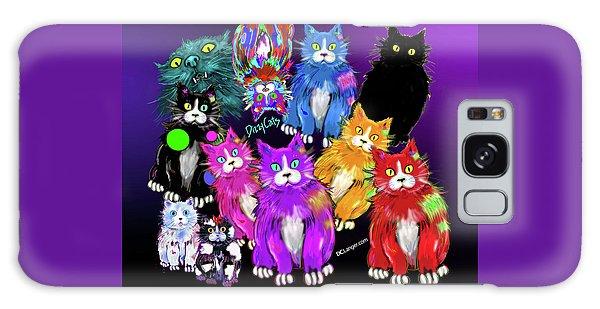 Dizzycats Galaxy Case by DC Langer
