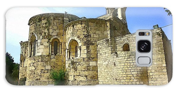 Do-00344 Church Of St John Marcus In Byblos Galaxy Case by Digital Oil