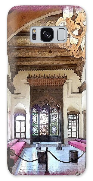 Do-00448 Reception Room At Beiteddine Galaxy Case by Digital Oil
