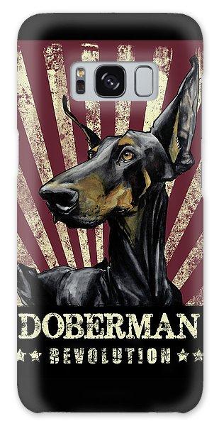Doberman Revolution Galaxy Case