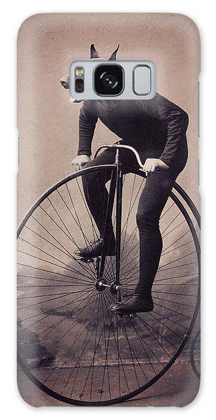 Bike Galaxy Case - Doberman Velocipede by Aged Pixel