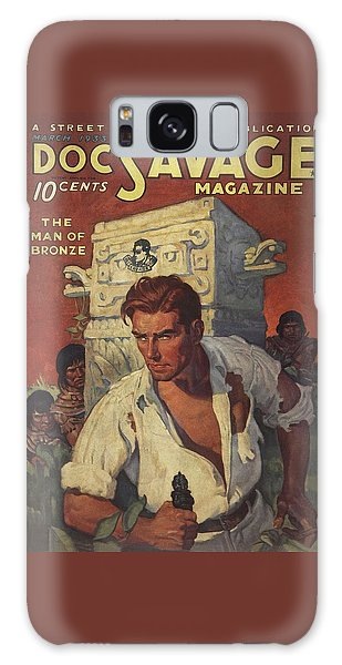 Doc Savage The Man Of Bronze Galaxy S8 Case