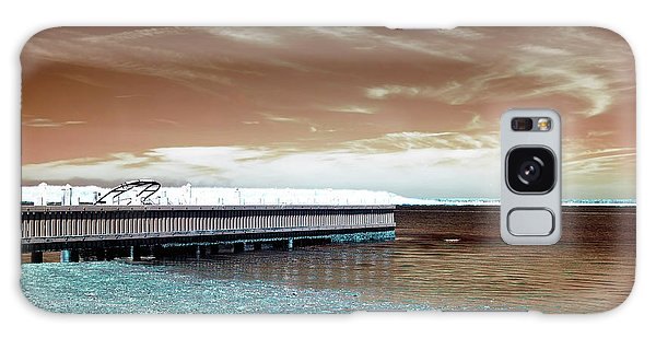 Dock Lines Infrared Galaxy Case by John Rizzuto