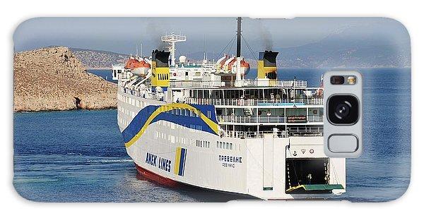 Docking Ferry On Halki Galaxy Case