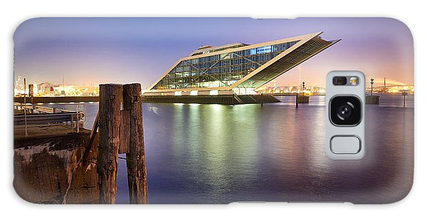 Dockland At Night Galaxy Case