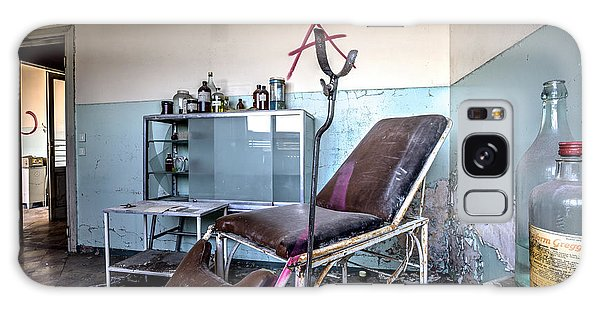 Doctor Chair Awaits Patient - Urbex Galaxy Case by Dirk Ercken