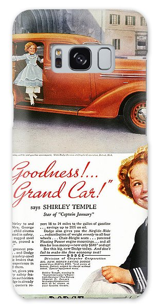 Dodge Automobile Ad, 1936 Galaxy Case by Granger
