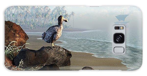 Dodo Afternoon Galaxy Case by Daniel Eskridge