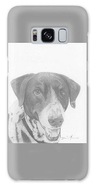 Dog Drawing Orion Galaxy Case