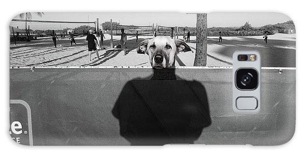 Galaxy Case - Dog Life by Emil Bodourov