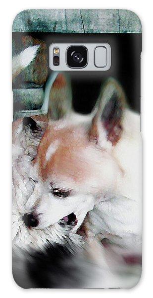 Dog Love Art 3 Galaxy Case