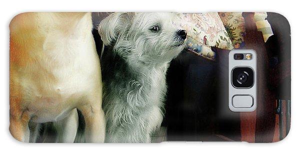 Dog Love Art 7 Galaxy Case