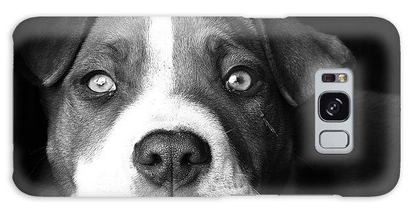 Dog - Monochrome 2 Galaxy Case