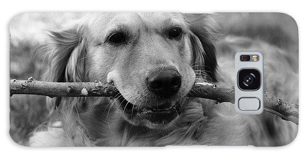 Dog - Monochrome 4 Galaxy Case