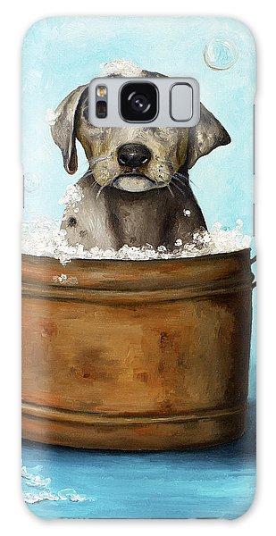 Dog N Suds Galaxy Case by Leah Saulnier The Painting Maniac