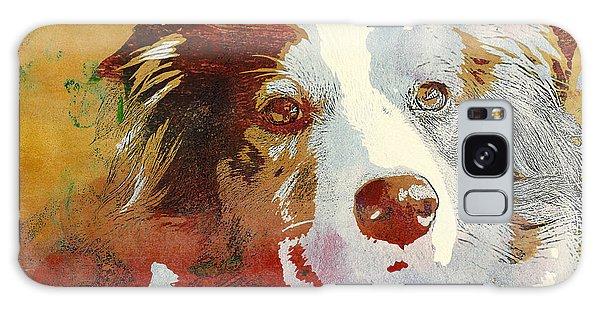 Dog Portrait Galaxy Case
