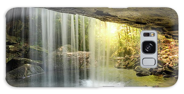 Dog Slaughter Falls Galaxy Case