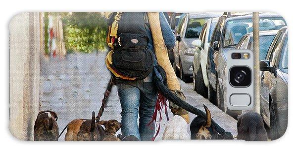 Leash Galaxy Case - Dog Walker by Juli Scalzi