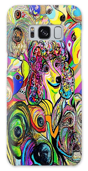 Dogs Dogs Dogs Galaxy Case