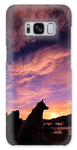 Dogs Dream Too Galaxy Case