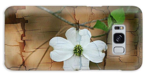 Dogwood Bloom Galaxy Case by Cathy Harper