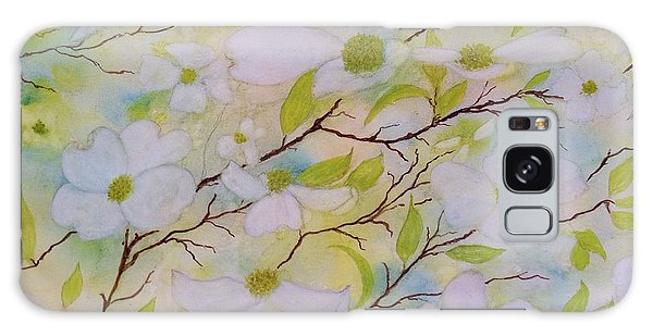 Dogwood Blossoms Galaxy Case