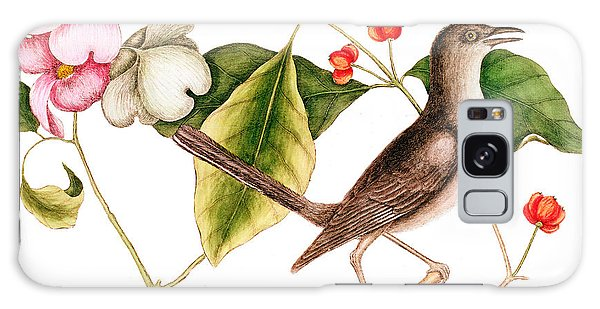 Dogwood  Cornus Florida, And Mocking Bird  Galaxy Case