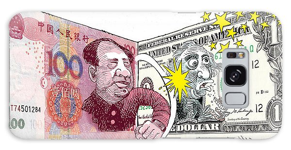 Dollar Vs Yen Galaxy Case